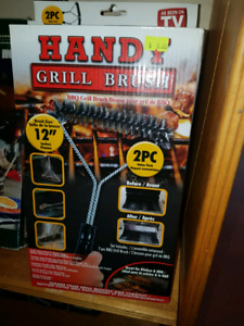 Handy grill brush 2 pack