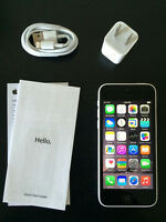 White iPhone 5c,8GB Brand New Condition.APPLE CARE+ until 2016