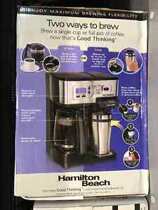 (NEVER USED) K-CUP+ 1 CUP + 12 CUP COFFEE MACHINE