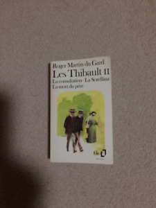 Book Les Thibault II (French) / Livre