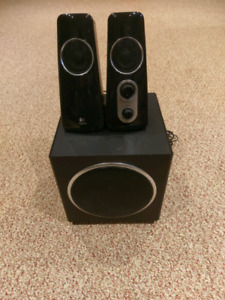 Logitech computer speakers with subwoofer