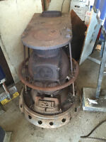 Antique Stove from CNR Caboose COLLECTIBLE