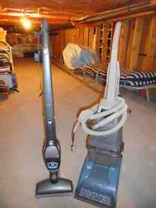 CARPET  CLEANER & CORDLESS BROOM  12VOLTS