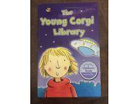 Box of Young Corgi Library books age 7+