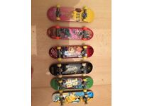 Tech deck scateboards