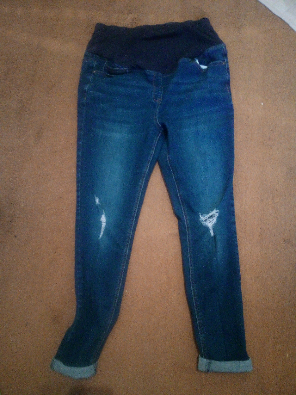 54e317bbcb51d Skinny Maternity Jeans Size 14 | in Penwortham, Lancashire | Gumtree