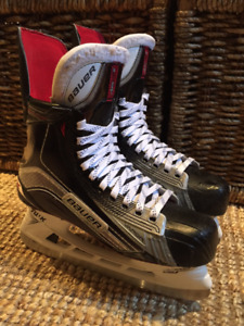 Patins Hockey BAUER VAPOR 1X PRO STOCK 8D Peu utilisés/Like New