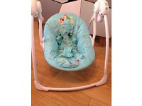 Bright starts baby chair seing