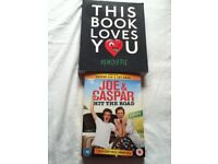 Joe & Caspar DVD and Pewdiepie Book