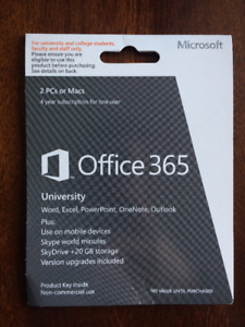 Office 365 University - 4 Year Subscription [Price Reduction]