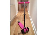 iScoot Pro Scooter (Pink)