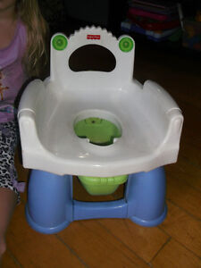Fisherprice potty and potty seats for boy and girl