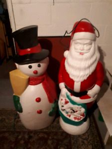 Lawyers up Santa Claus and snowman $15 each