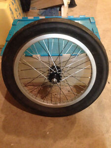 Unicycle Tire/Hub/Rim and Spokes