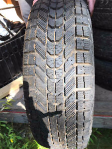 3 sets of 4 used winter tires