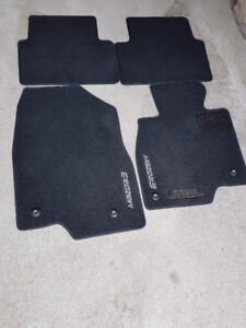 OEM all weather and summer floor mats for 2014 and up mazda3