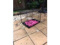 Dog/puppy training crate