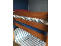 Solid pine bunkbeds