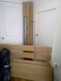 Double Bed Frame From IKEA Excellent Quality And Condition Can Deliver