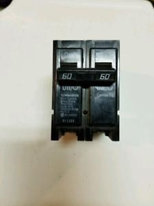 Disjoncteur/ Breaker 60 Amp.