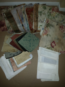 Fabric for crafts; Small Projects; approx 180 pieces: