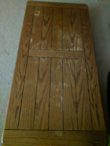Large Coffee table, good shape, could use a restain.