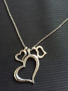 New hearts necklace