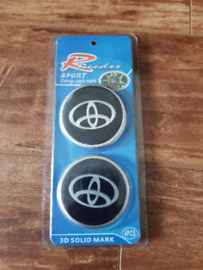TOYOTA Wheel Cap Stickers