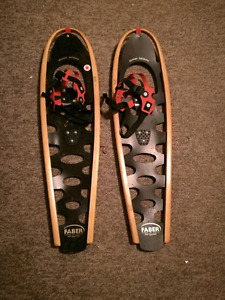 2 pair Fabar snow shoes, good quality barely used
