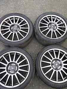 "(*WINTER SALE*) 17"" Ford Rims W/Sensors and Tires"