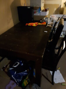 Kitchen Table (3 chairs) USED OBO