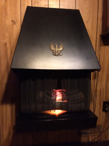 Vintage Wall Mounted Electric Fireplace