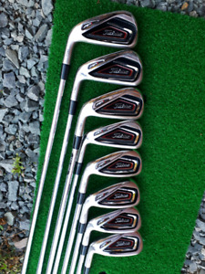 Left Handed Titleist AP1 716 Iron Set 4-GW Reg Flex