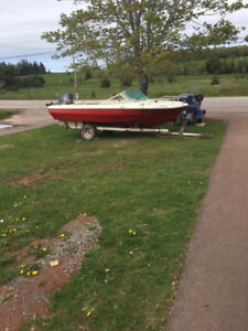 Speedboat w/ trailer - want to trade for 4x4