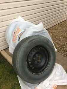 *REDUCED* Michelin winter tires on rims