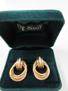 14 KT. YELLOW GOLD EARRINGS