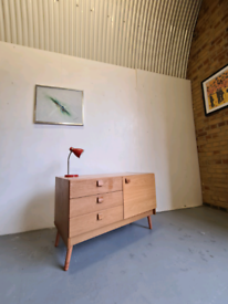 Danish Teak Mid Century Sideboard by Domino