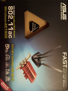 ASUS PCE-AC68 Dual-band Wireless-AC1900