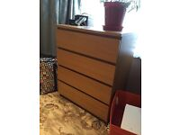Ikea 4 - chest of drawers