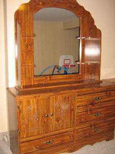 Two Dressers & Night Stand For Sale