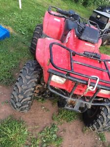2002 Honda fourtrax 250 with papers