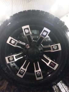 20 inch metal mulisha wheels for sale