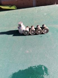 Genuine Audi wheel locking nuts(bolts)