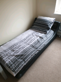 Single bed with mattress never used