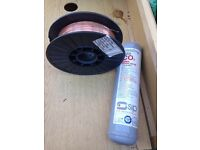 MIG C02 and 0.8mm copper coated wire