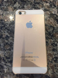 iPhone 5 Rogers w/ Gold Case for sale! Good Condition! London Ontario image 4