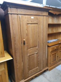Sale!! Victorian Pine Double Wardrobe