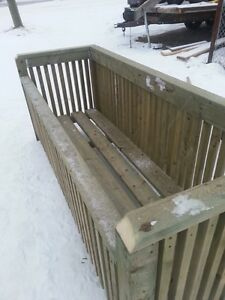 Garbage Can Holders really well made assembled on location Edmonton Edmonton Area image 5