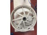 Honda VFR 400 NC30 rear wheel and axle 18 inch
