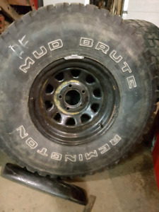 Jeep Jk rims and tires 33's with 15 inch rims
